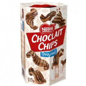 Nestlé choclait chips